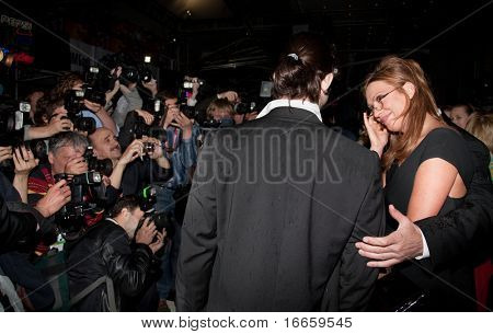 MOSCOW - JUNE,19: Actress Olga Drozdova, Opening Of 31st Moscow International Film Festival at Pushkinsky Cinema . June 19, 2009 in Moscow, Russia.