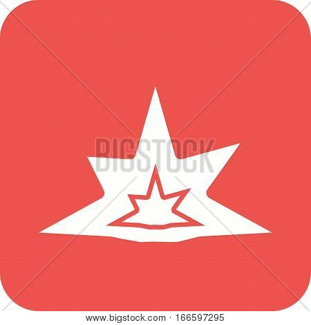 Explosion, bomb, weapon icon vector image. Can also be used for firefighting. Suitable for use on web apps, mobile apps and print media.