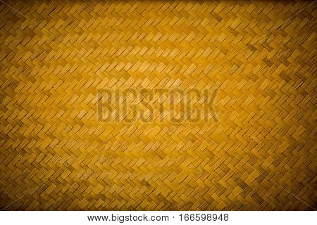 Pattern of bamboo cross weave Pattern of wood cross weave background of wood background of bamboo
