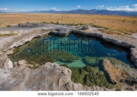 Meadow Hot Spring Utah