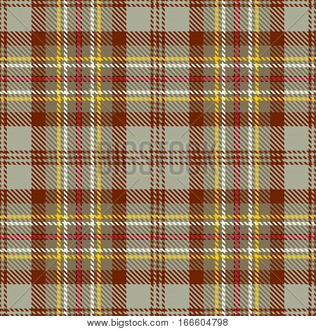 Tartan Seamless Pattern Background. Red White Black and Beige Plaid Tartan Flannel Shirt Patterns. Trendy Tiles Vector Illustration for Wallpapers.