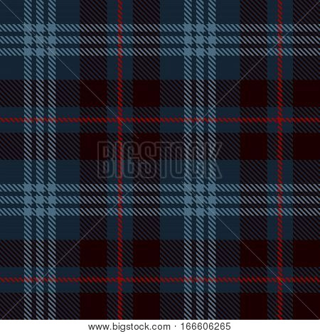 Tartan Seamless Pattern Background. Red Black and Blue Plaid Tartan Flannel Shirt Patterns. Trendy Tiles Vector Illustration for Wallpapers.