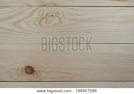 Background of fresh unpainted boards. Horizontal. Photo