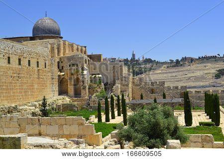 Al Aqsa Mosque in Jerusalem the 3rd holiest site in Islam.