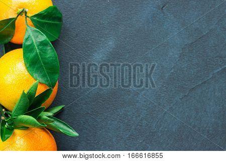 Citrus Fruits Tangerines