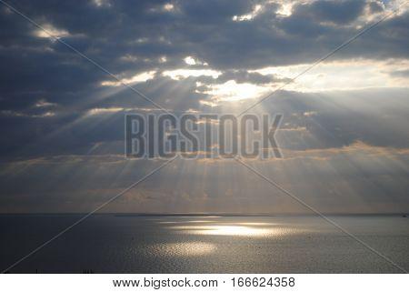 Sunrise in Maputo Bay, Mozambique - Africa
