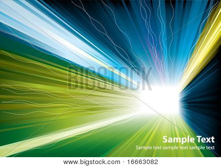 Vector light burst