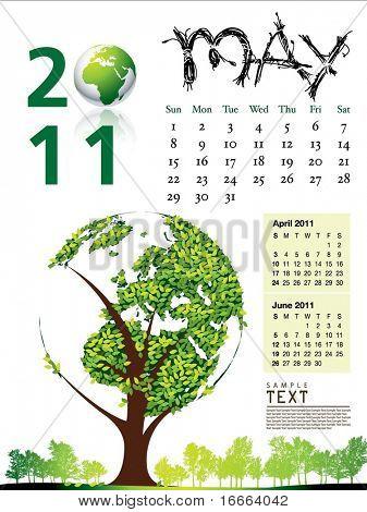 2011 Calendar May