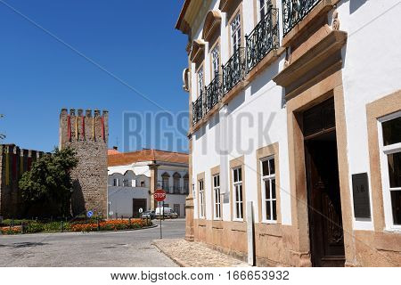 Castle and Casa do Alamo Alter Do Chao Beiras region Portugal