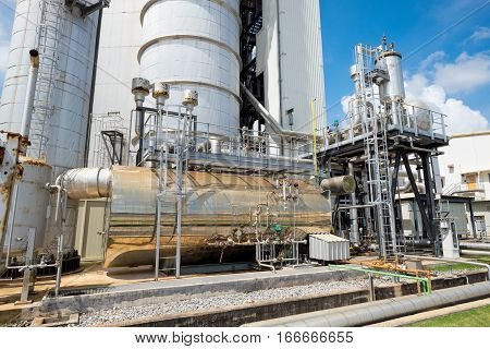 Auxiliary Boiler Of Combine Cycle Power Plant