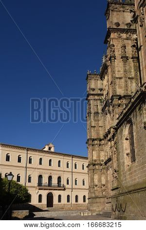 New cathedral Plasencia. Cáceres province Extremadura Spain