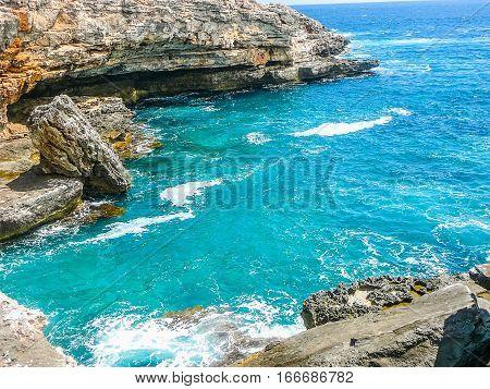 Hdr View Of Punta Prima