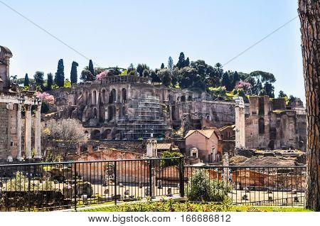 Hdr Roman Forum, Rome