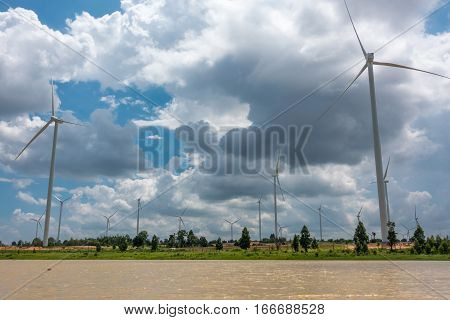 Huay Bong Wind Farm development in Thailand