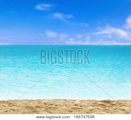 Beach background and sand.