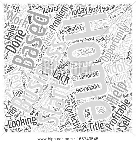 How to Start a Home Based Business Word Cloud Concept