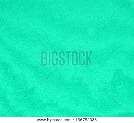 surface green fabric cotton texture for background