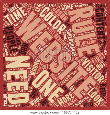 How To Supercharge Your Website text background wordcloud concept