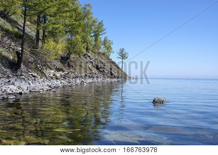 Beautiful Views Of The Lake Baikal