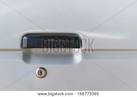Car door handle for opening car doors equipment of vehicles.