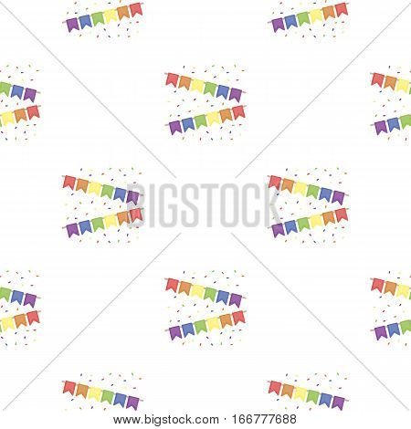 Flags icon cartoon. pattern gay icon from the big minority, homosexual cartoon. - stock vector