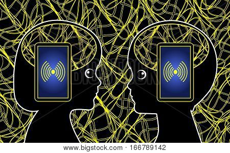 Mobile Phone Radiation and Kids. Electromagnetic smog from smartphones or any wireless system can have effects on the brain development of children