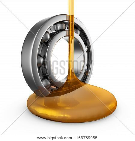 Oil On Bearing