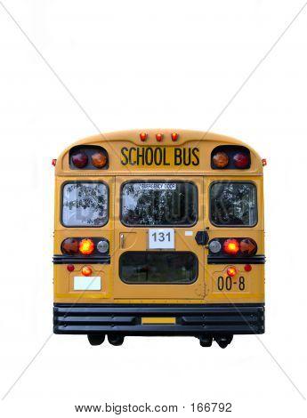 School Bus Rear