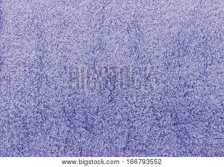 Blue Color Towel Texture.