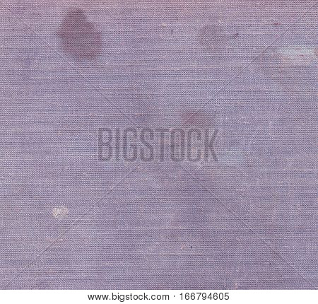 Color Canvas Surface With Dirty Spots.