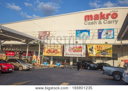 Makro Hypermarket Hangdong Chiang Mai.