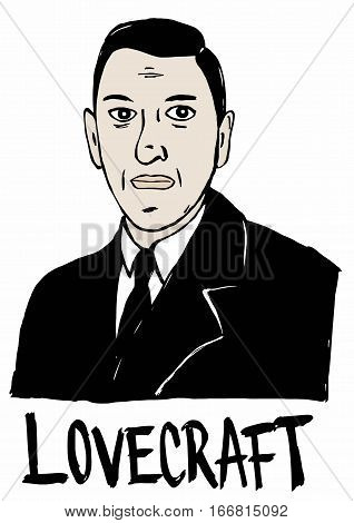 Image of famous Howard Phillips Lovecraft author