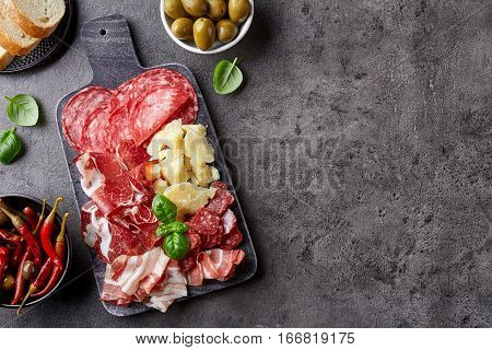 Cold Smoked Meat And Cheese