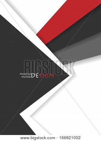 Bright material design. Corporate vector backdrop. Vertical elements for designs. Templates for brochures, annual reports and magazines. Eps10