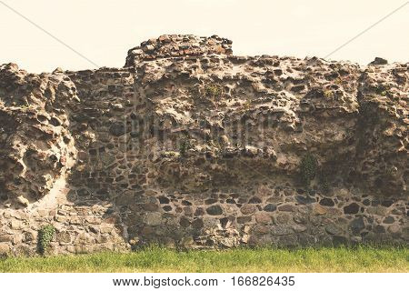 Ancient Ruined Wall