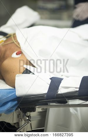Hospital Ward Patient Bed