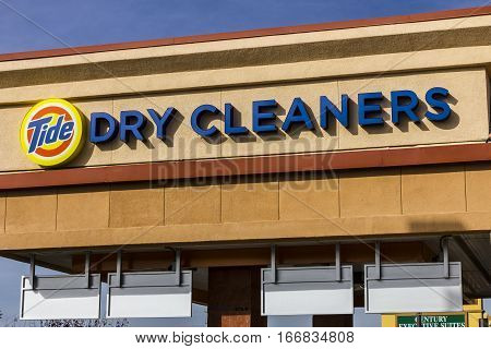 Las Vegas - Circa December 2016: Tide Dry Cleaners Laundry Location. Tide has created a professional dry cleaning service for garments I