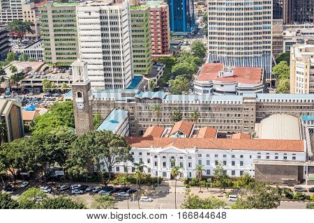 City Hall Of Nairobi, Kenya