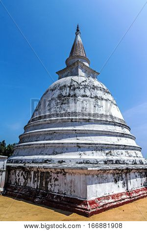 Ancient stupa, Dagoba in Polonnaruwa (Sri Lanka)