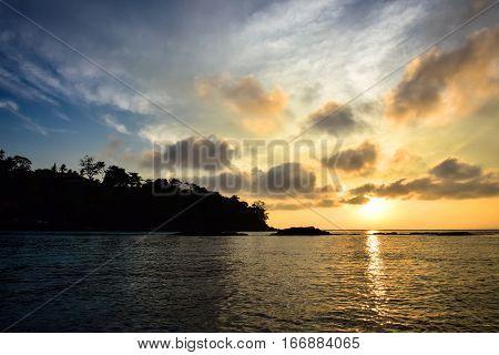 Sunrise in Phi Phi Island - (Thailand /January 2017)