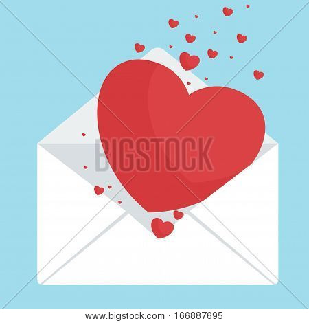 Envelop With Hearts