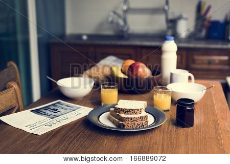 Eatery Breakfast Morning Meal Prepare