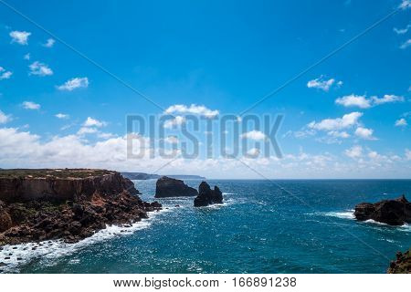 Portugal - Coast By Atlantic Ocean