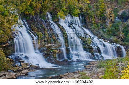 Twin Falls Rock Island State Park Tennessee