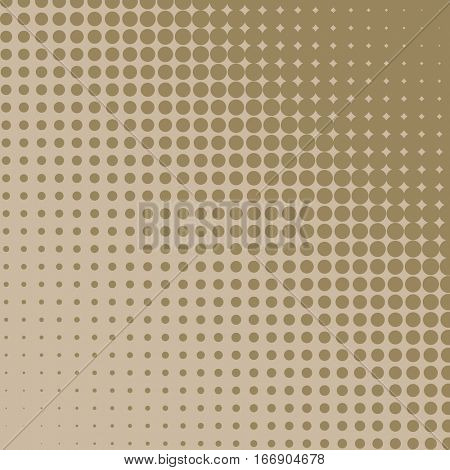Beige diagonal halftone diagonal background. Raster copy.