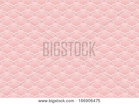 pink background or seamless pattern - vector illustration