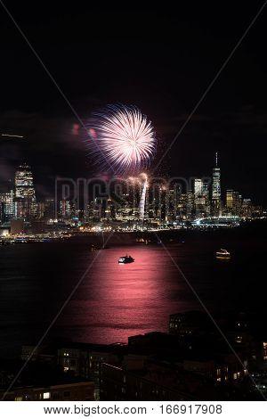 New York Fireworks