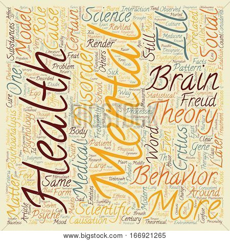 In Defense of Psychoanalysis text background wordcloud concept
