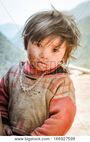 Child In Nepal