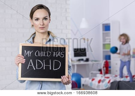 Mother Of Child With Adhd